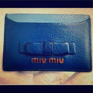 Card case MIU MIU